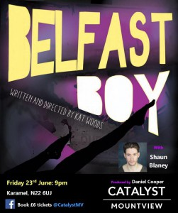Belfast Boy starring Shaun Blaney